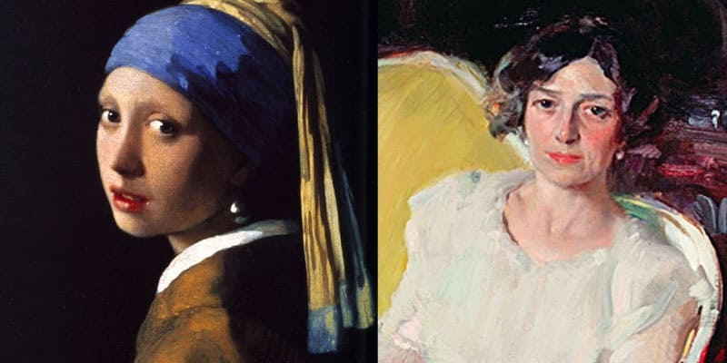 Veladuras o no veladuras: Vermeer vs Sorolla