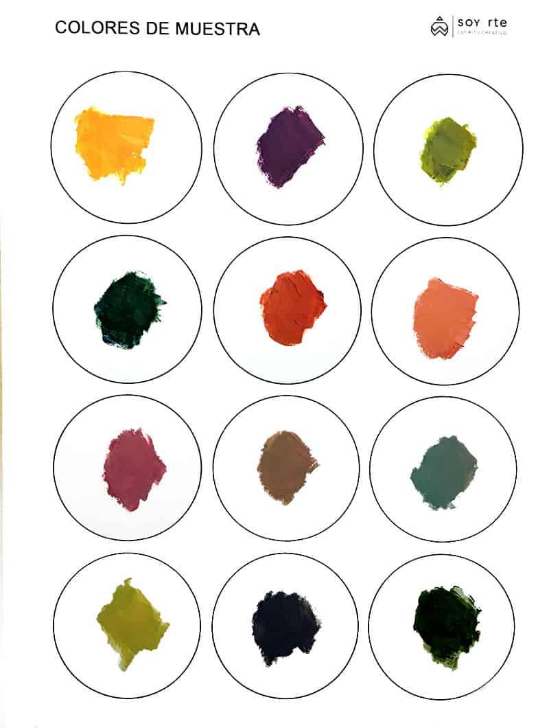 Resultado de Encontrar el color en óleo